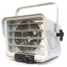 a 240V electric garage heater