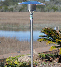 a natural gas patio heater