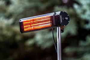 an electric patio heater