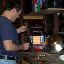 a gas garage heater