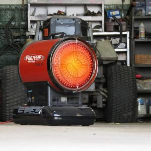 a kerosene heater