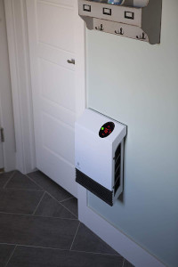an electric wall heater
