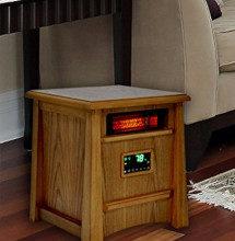 an infrared heater