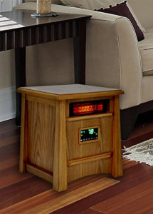 an infrared heater