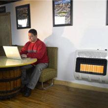 a propane wall heater