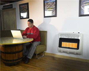 a propane wall heater
