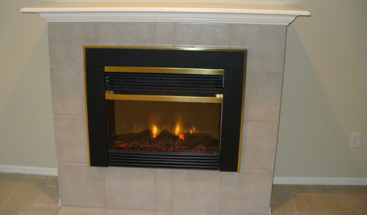how does an electric fireplace work