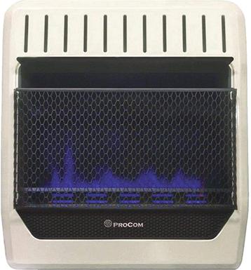 Procom Heating 20K BTU Propane Wall Heater