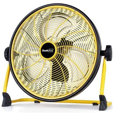 GeekAire Rechargeable Outdoor Floor Fan