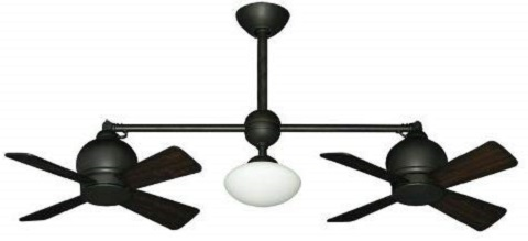 Metropolitan Modern Double Ceiling Fan