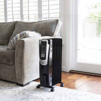 NewAir Electric Oil-Filled Space Heater Indoor Personal Heater