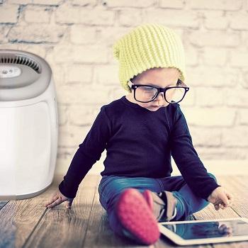 Vornadobaby Purio Air Purifier White