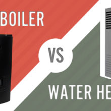 Boiler vs water heater