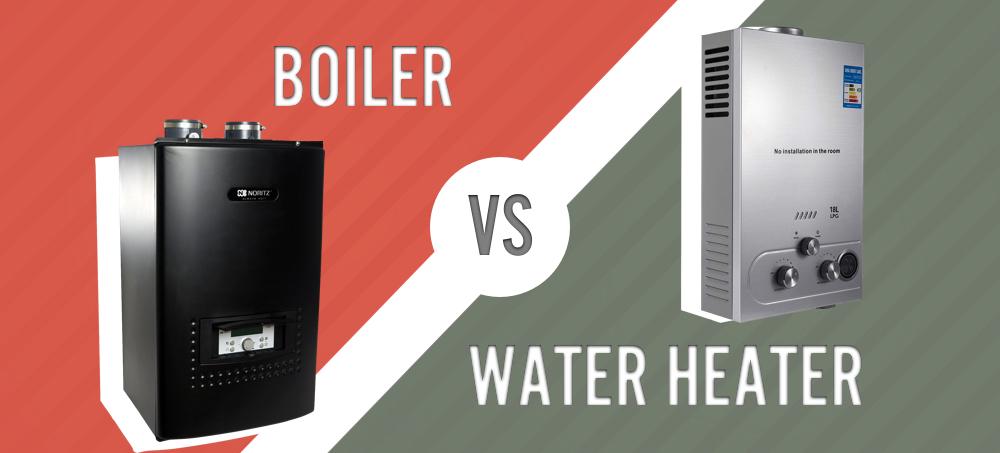 Boiler vs water heater