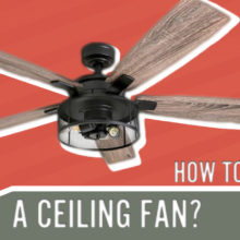 how to clean ceiling fan