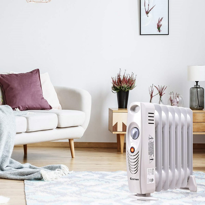 COSTWAY Oil Filled Radiator Heater