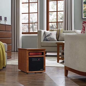 Portable Electric Infrared Quartz Heater-Duraflame-9HM8101-O142-Amazon