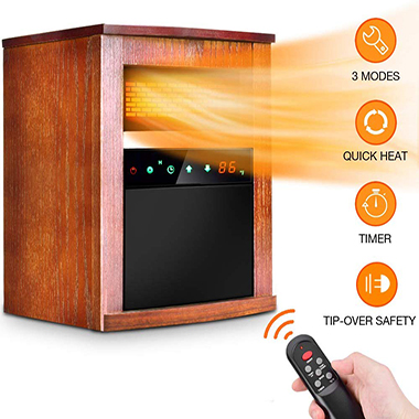 TRUSTECH Electric Space Heater