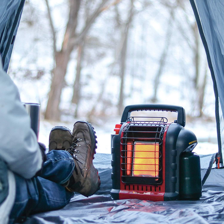 propane heater usage